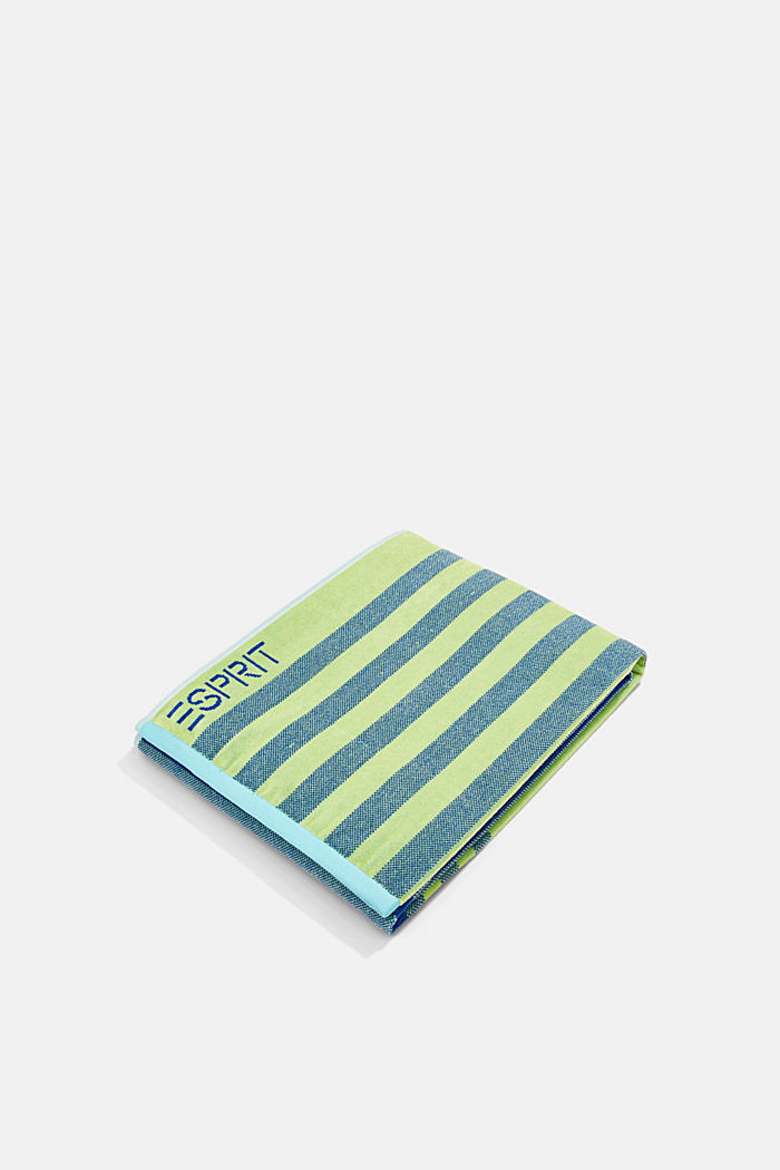 Beach towel made of 100% cotton, REFLEX BLUE, detail image number 0