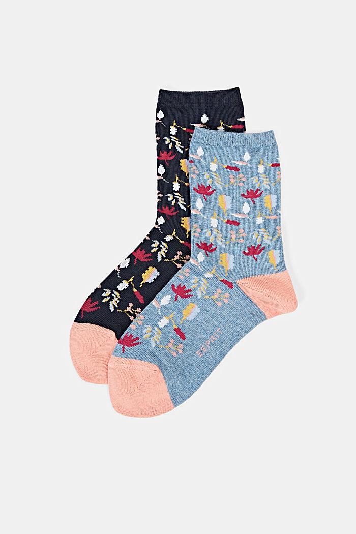 Socks, NAVY/BLUE, detail image number 0