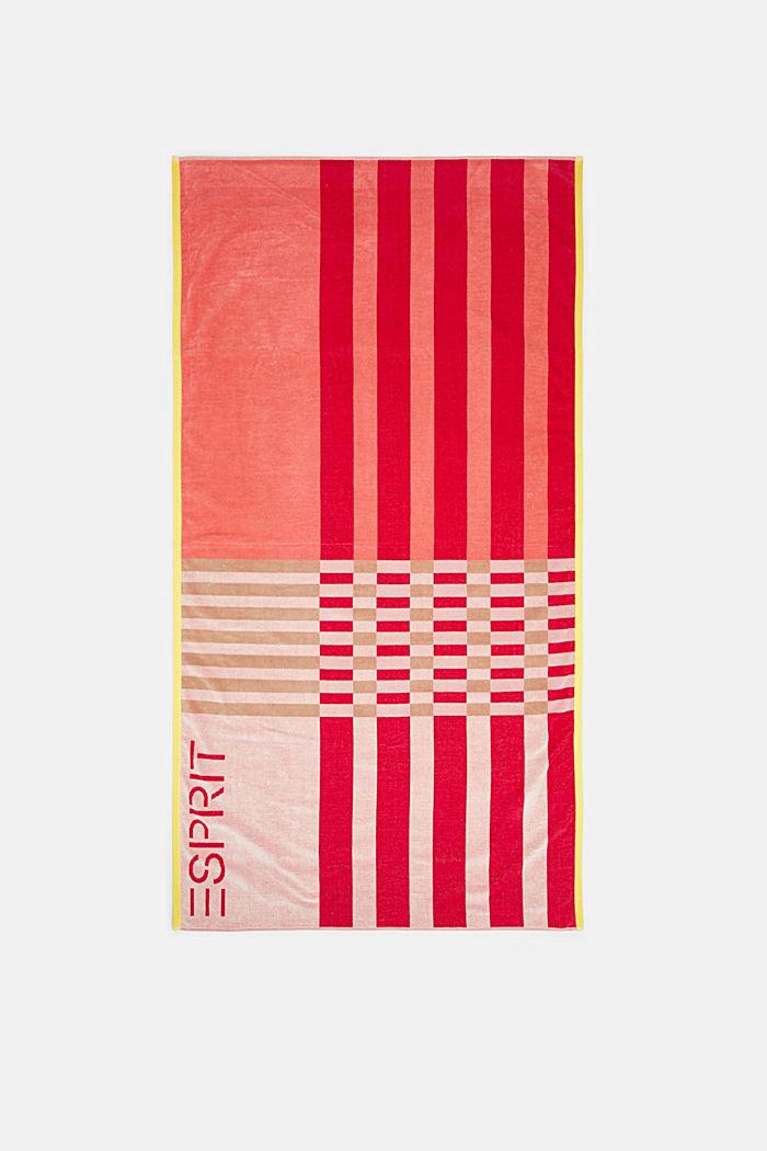 Beach towel made of 100% cotton