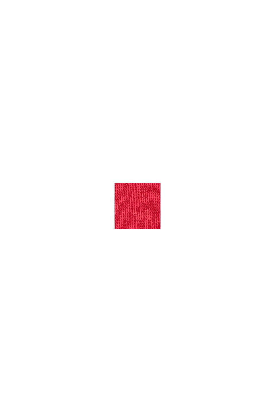 Stickade strumpbyxor i ekobomullsmix, RED, swatch