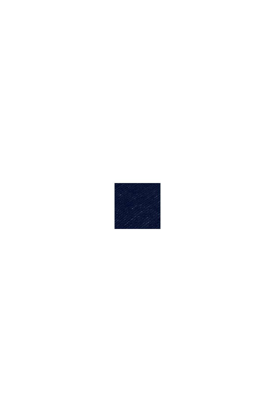 Strandhåndklæde med striber, 100% bomuld, NAVY BLUE, swatch