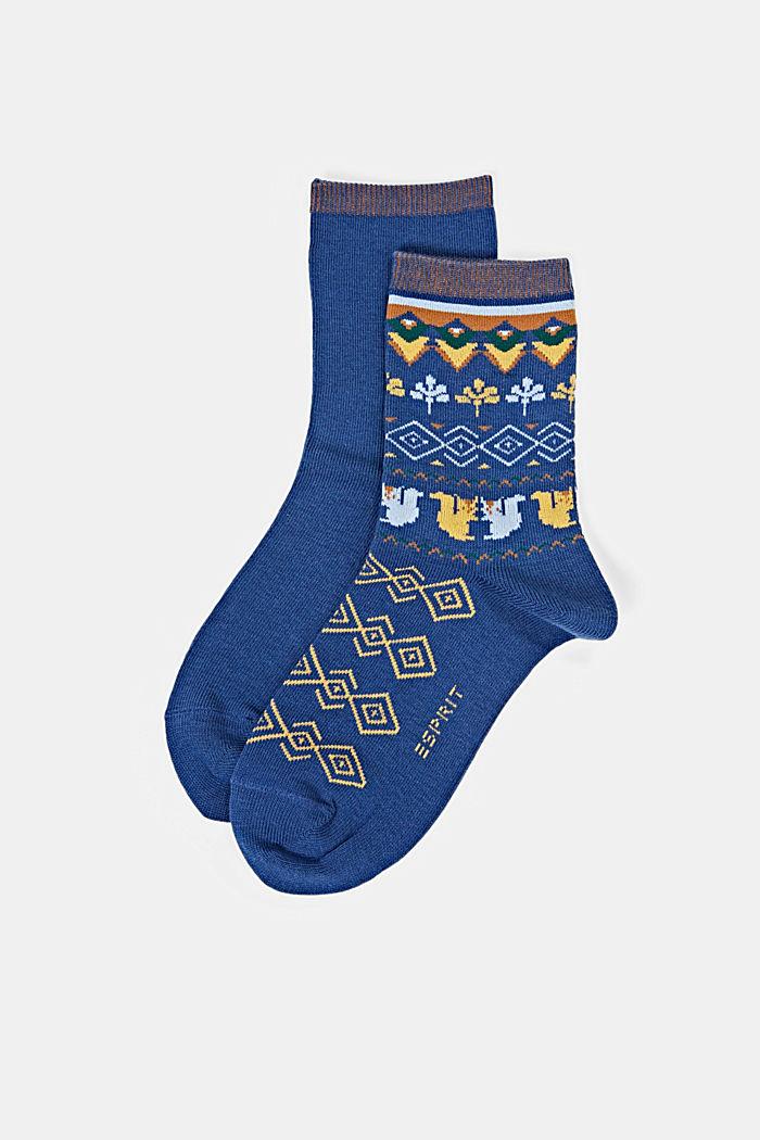 Socks, ROYAL BLUE, detail image number 0