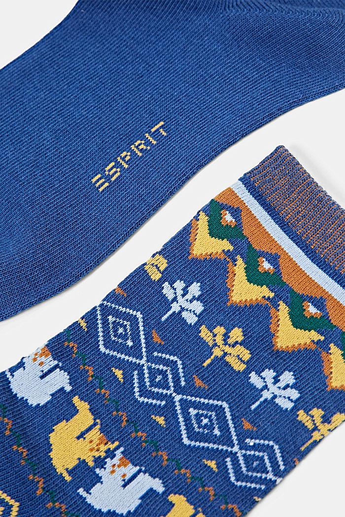 Socks, ROYAL BLUE, detail image number 1