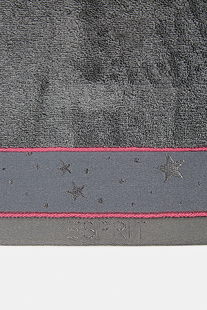 Towelling, ANTHRACITE, detail image number 2