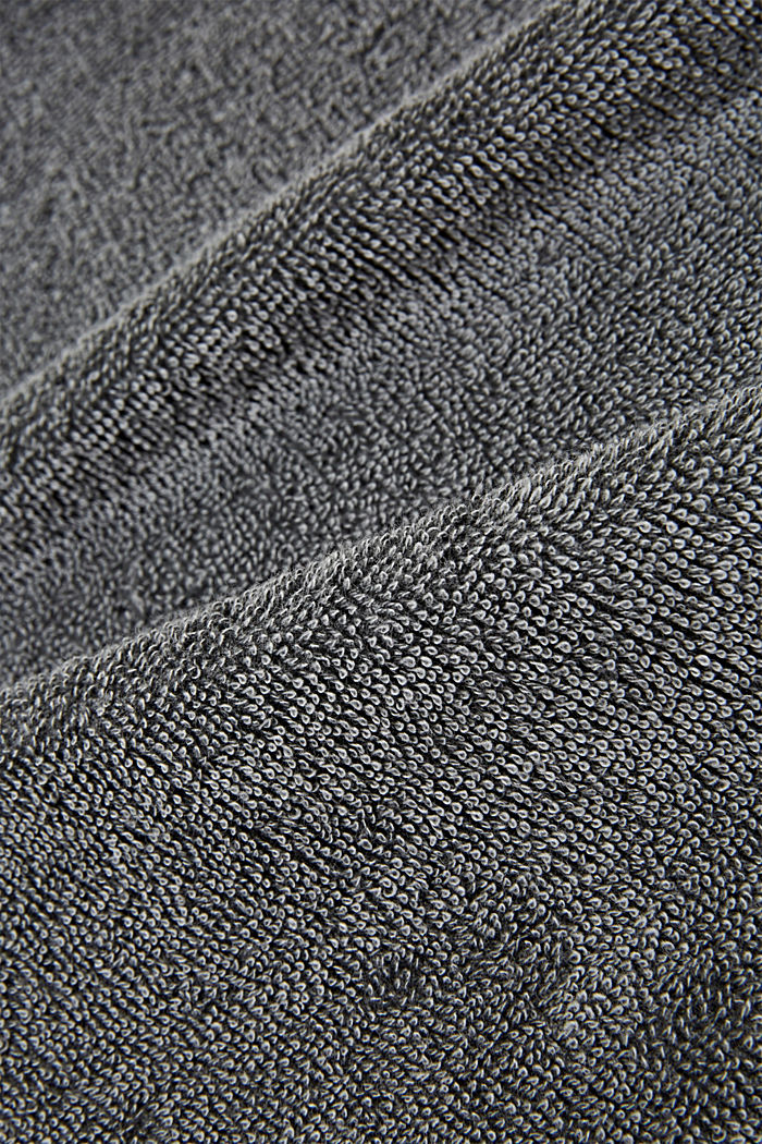 Towelling, ANTHRACITE, detail image number 1