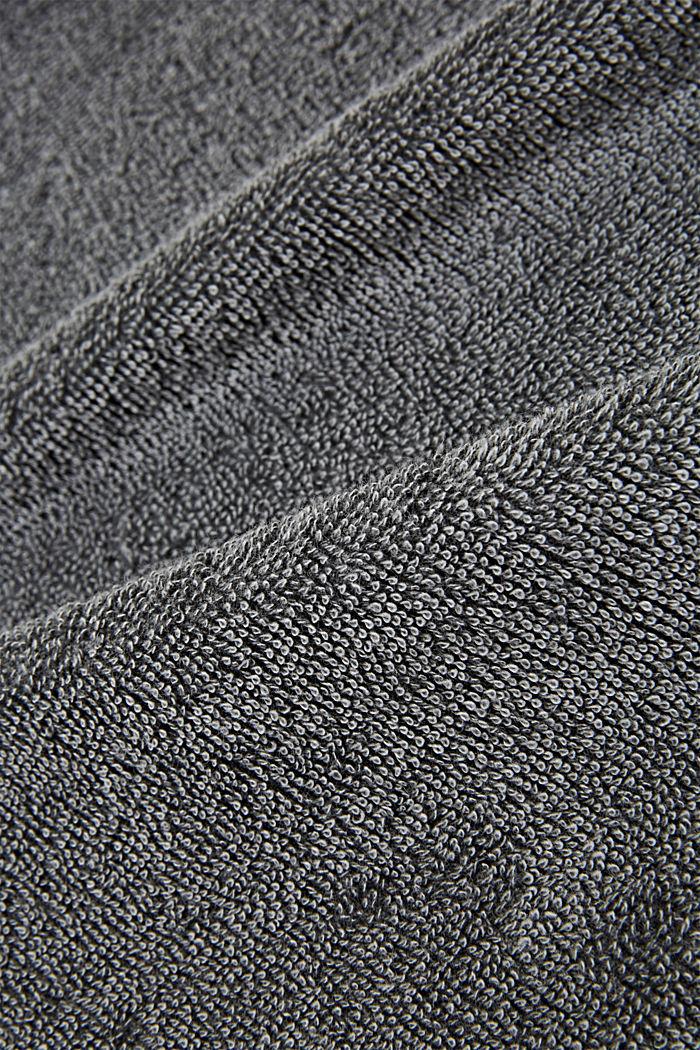 Handtuch mit Sternen-Bordüre, 100% Baumwolle, ANTHRACITE, detail image number 1
