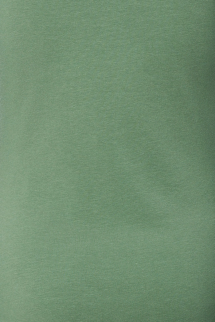 Print-Shirt mit Stickerei, Organic Cotton, VINYARD GREEN, detail image number 2