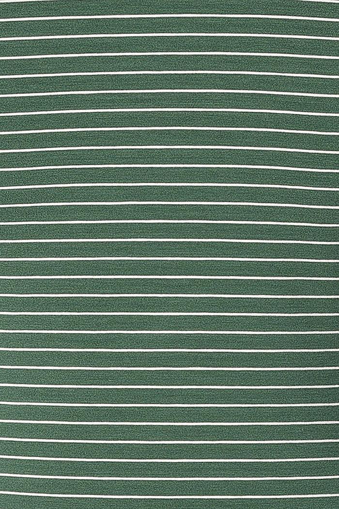 Koszulka z funkcją karmienia, LENZING™ ECOVERO™, VINYARD GREEN, detail image number 4