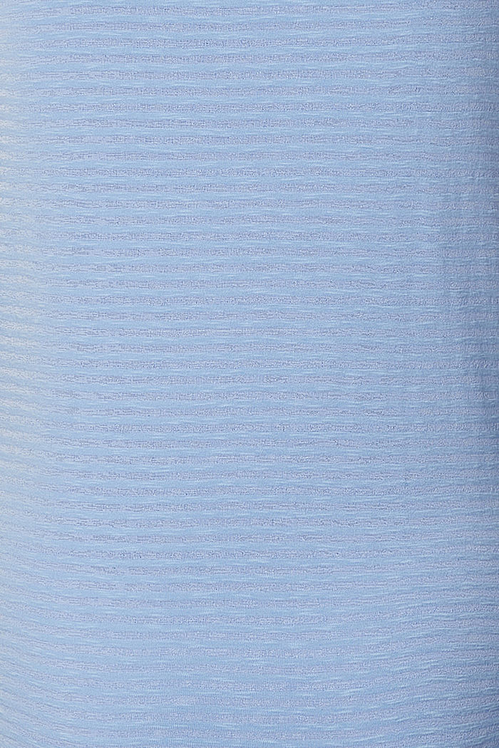 Burnt-out nursing top, LIGHT BLUE, detail image number 3