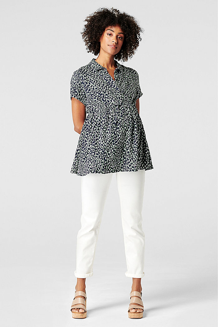Nursing blouse, LENZING™ ECOVERO™