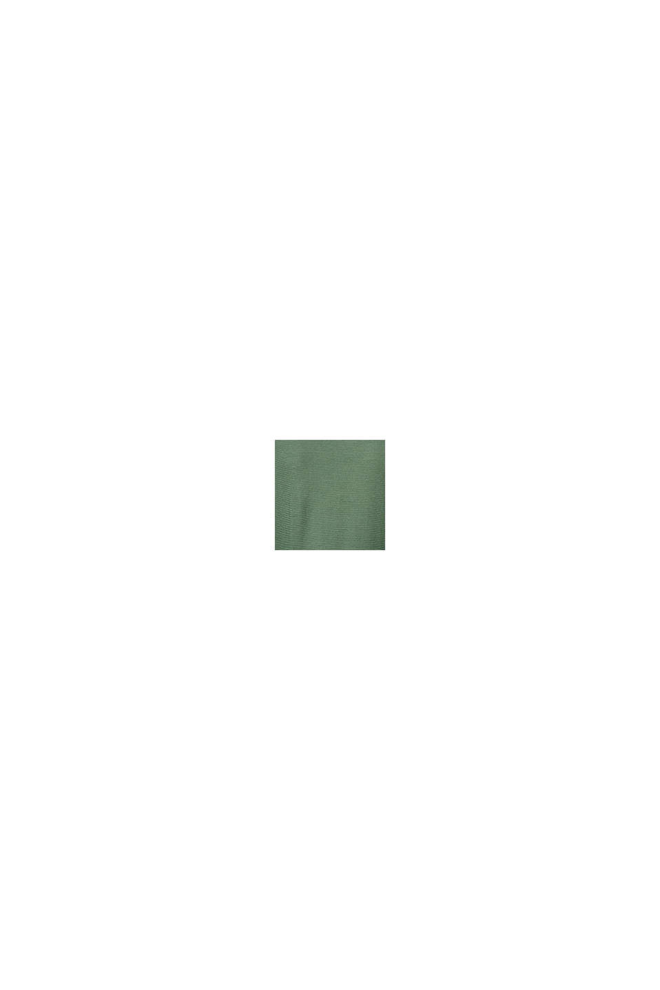 Finmasket strikpullover med struktur, VINYARD GREEN, swatch