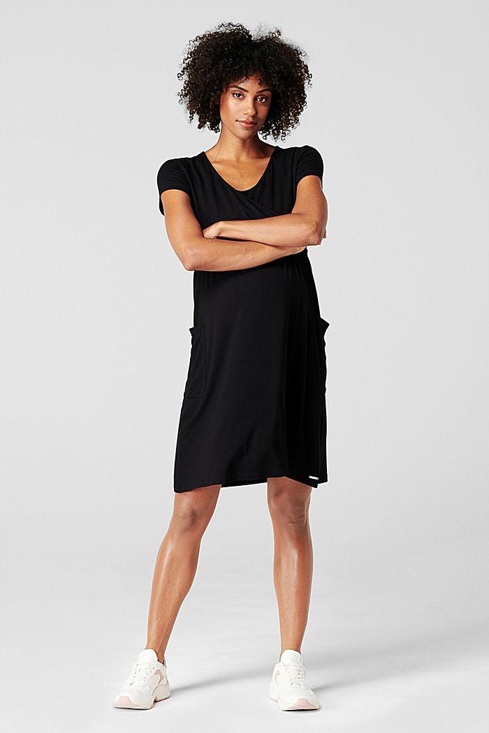 Kleid mit Stillfunktion, LENZING™ ECOVERO™