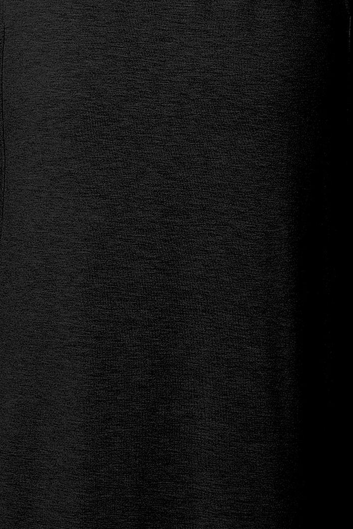 Kleid mit Stillfunktion, LENZING™ ECOVERO™, BLACK, detail image number 3
