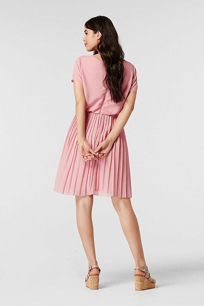 Plissee-Kleid mit Stillfunktion, ROSE BRICK, detail image number 2
