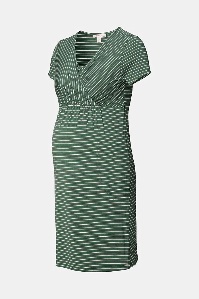 Kleid mit Stillfunktion, LENZING™ ECOVERO™, VINYARD GREEN, detail image number 5