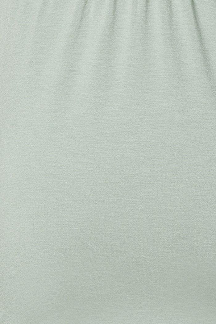 Top mit Stillfunktion, LENZING™ ECOVERO™, GREY MOSS, detail image number 4