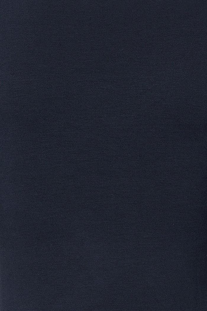 Smocked T-shirt, LENZING™ ECOVERO™, NIGHT SKY BLUE, detail image number 2