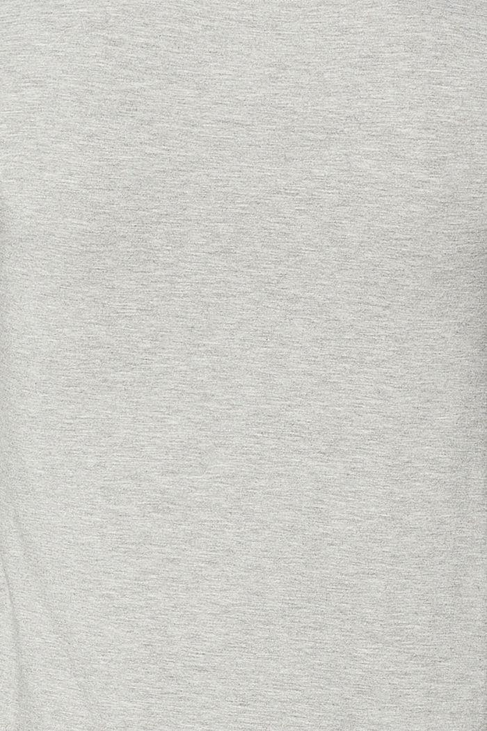 Layer-Top mit Stillfunktion, MEDIUM GREY, detail image number 4
