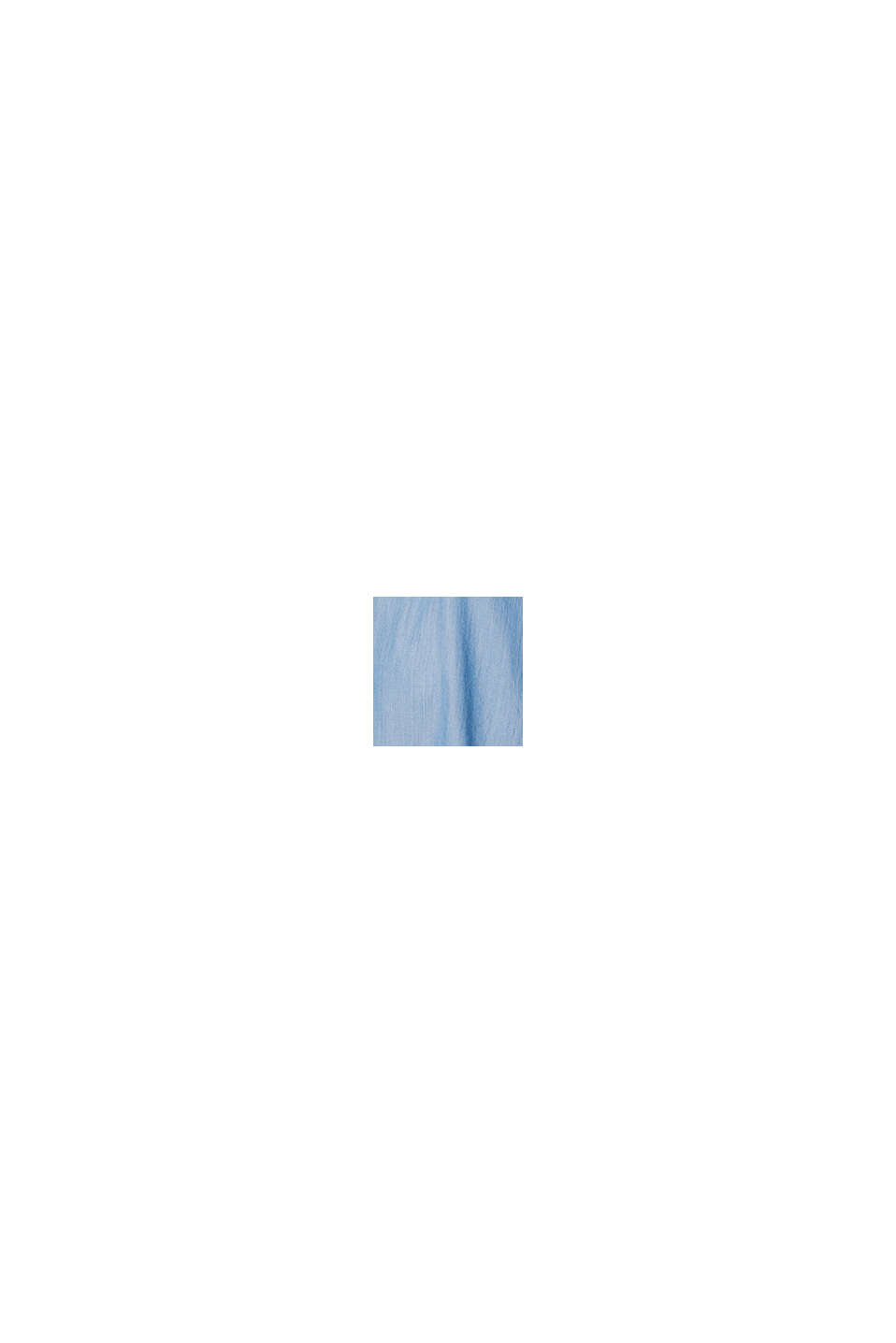 Made of TENCEL™: airy top in a denim look, BLUE MEDIUM WASHED, swatch