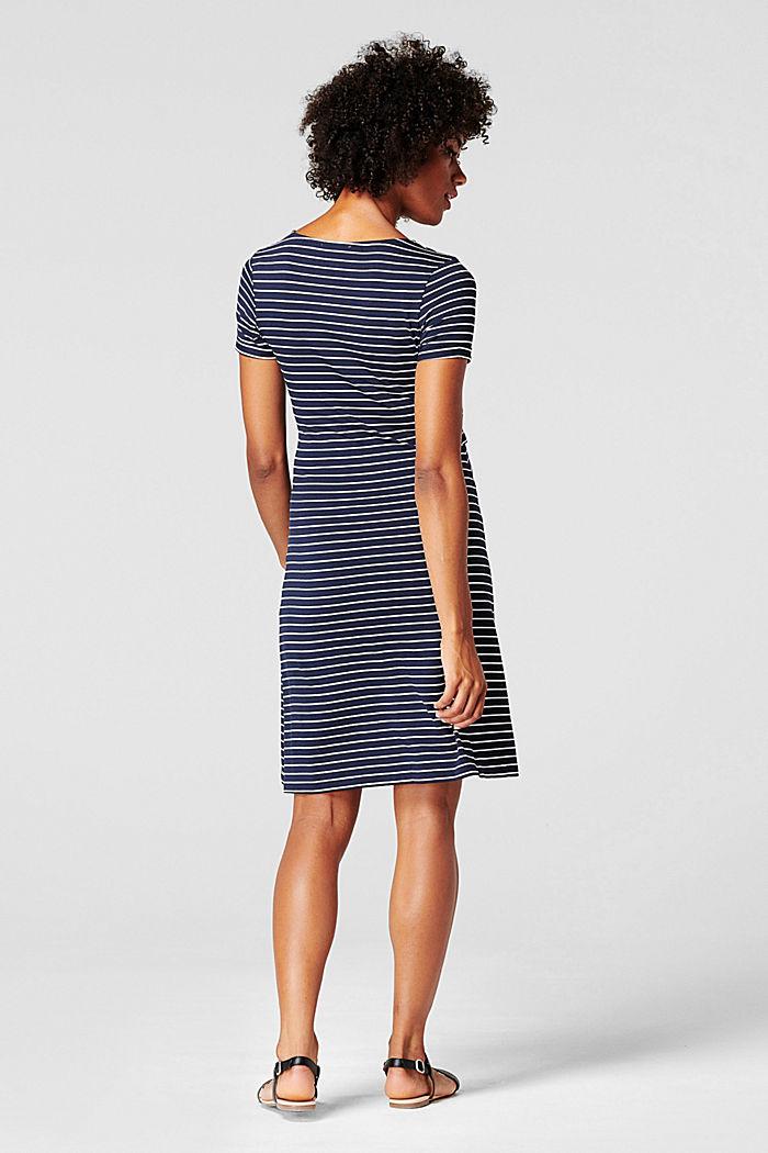 Jersey jurk met voedingsfunctie, LENZING™ ECOVERO™, NIGHT SKY BLUE, detail image number 2