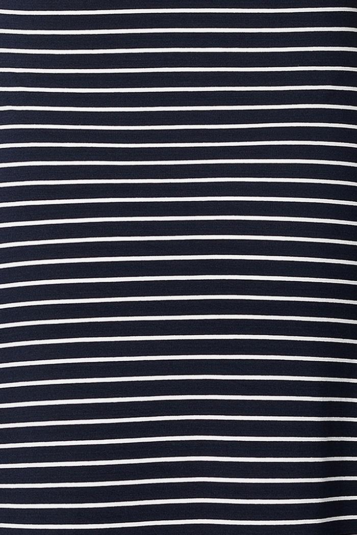 Jersey nursing dress, LENZING™ ECOVERO™, NIGHT SKY BLUE, detail image number 5