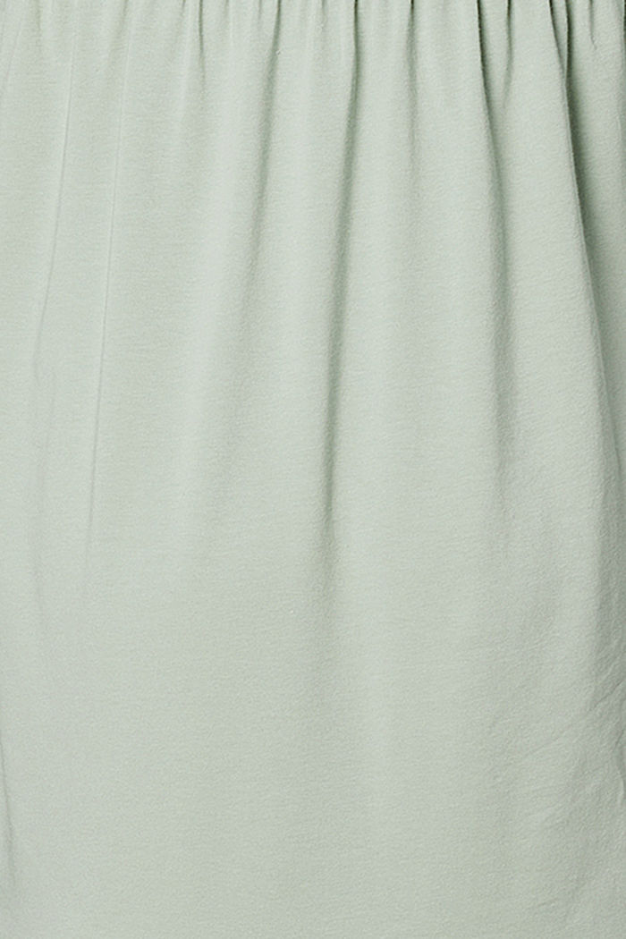 Tiered nursing dress, organic cotton, GREY MOSS, detail image number 5