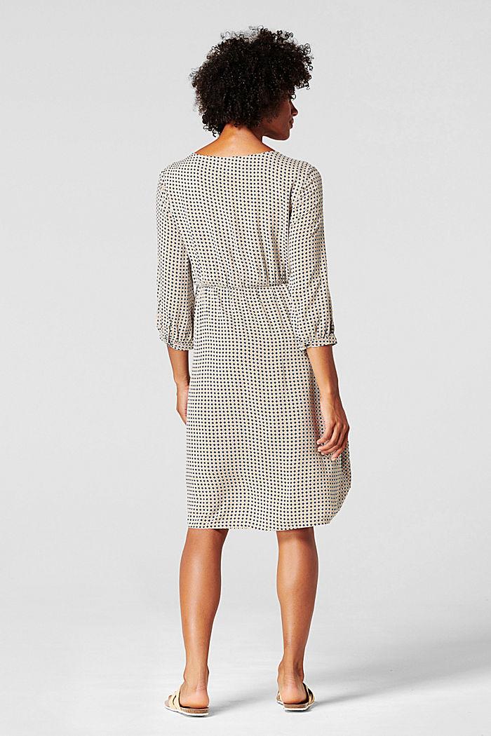 Kleid mit Stillfunktion, LENZING™ ECOVERO™, NIGHT SKY BLUE, detail image number 3