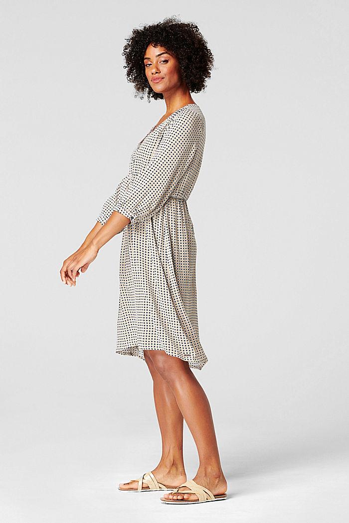 Kleid mit Stillfunktion, LENZING™ ECOVERO™, NIGHT SKY BLUE, detail image number 1