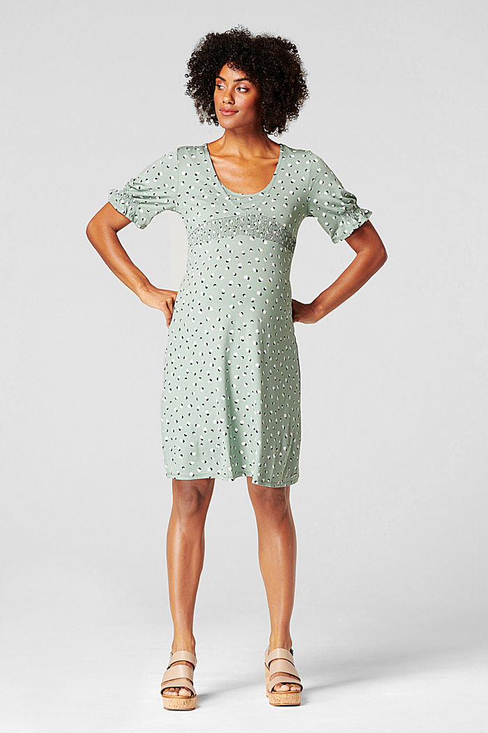 Nursing dress, LENZING™ ECOVERO™