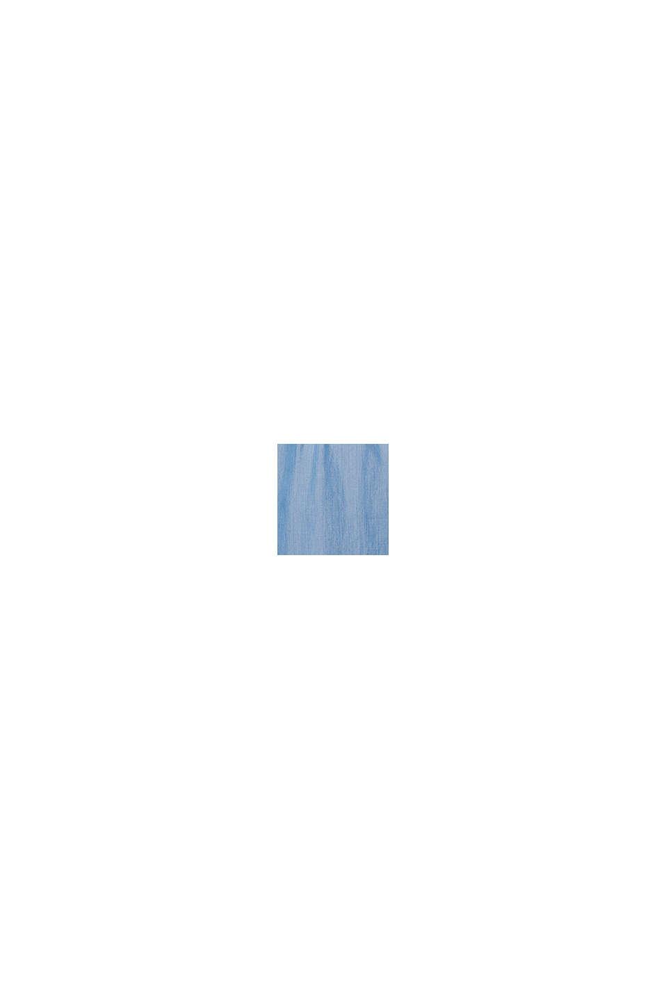 De TENCEL™: vestido holgado con acabado vaquero, BLUE MEDIUM WASHED, swatch