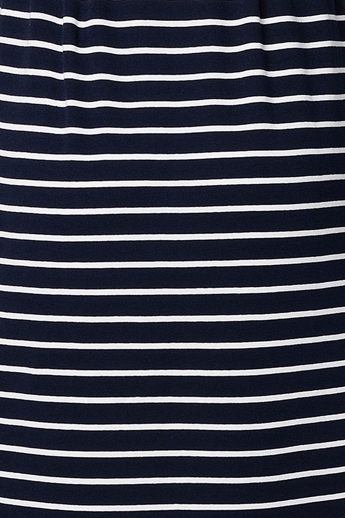 Striped jersey dress, organic cotton, NIGHT SKY BLUE, detail image number 3