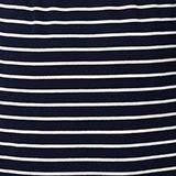 Jersey jurk met strepen, biologisch katoen, NIGHT SKY BLUE, swatch