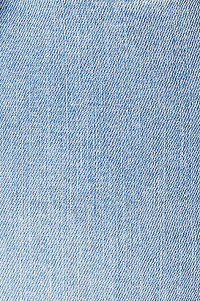 Stretch-Jeans mit Überbauchbund, BLUE LIGHT WASHED, detail image number 2