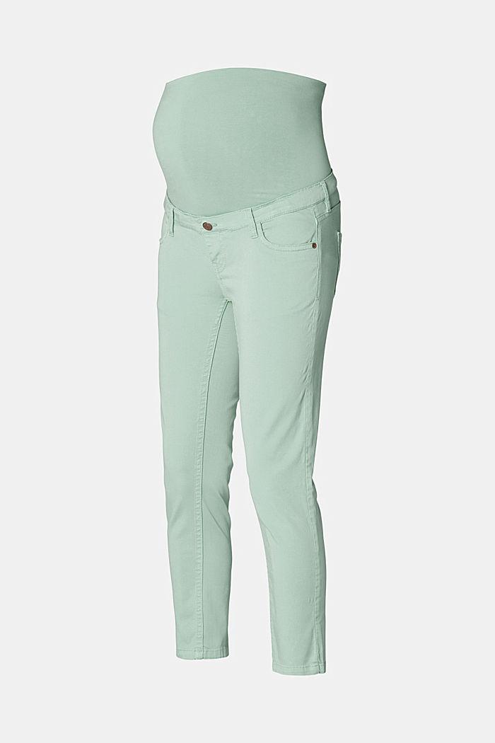 Spodnie do kostek z panelem, GREY MOSS, detail image number 5