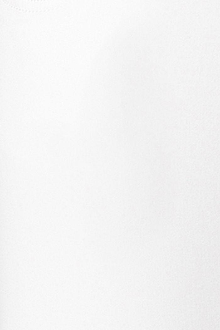 Knöchellange Hose mit Überbauchbund, BRIGHT WHITE, detail image number 3