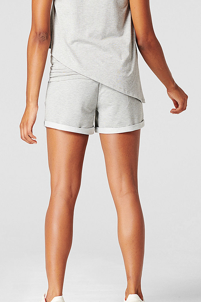 Sweat-Shorts mit Unterbauchbund, MEDIUM GREY MELANGE, detail image number 2