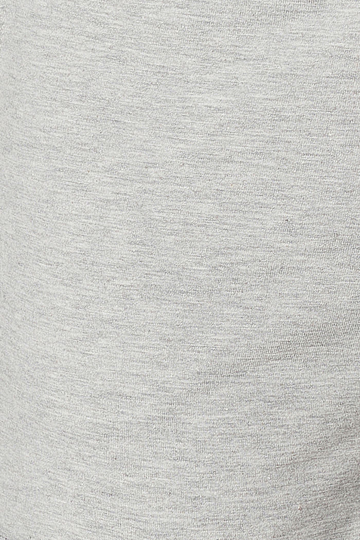 Sweat-Shorts mit Unterbauchbund, MEDIUM GREY MELANGE, detail image number 3