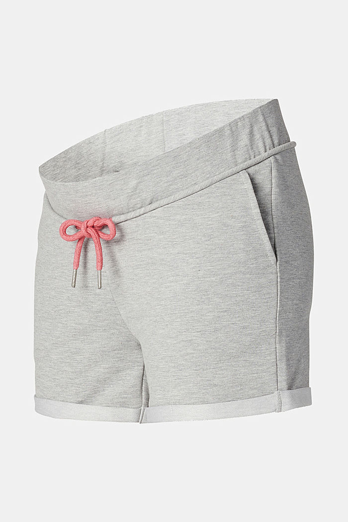 Sweat-Shorts mit Unterbauchbund, MEDIUM GREY MELANGE, detail image number 5