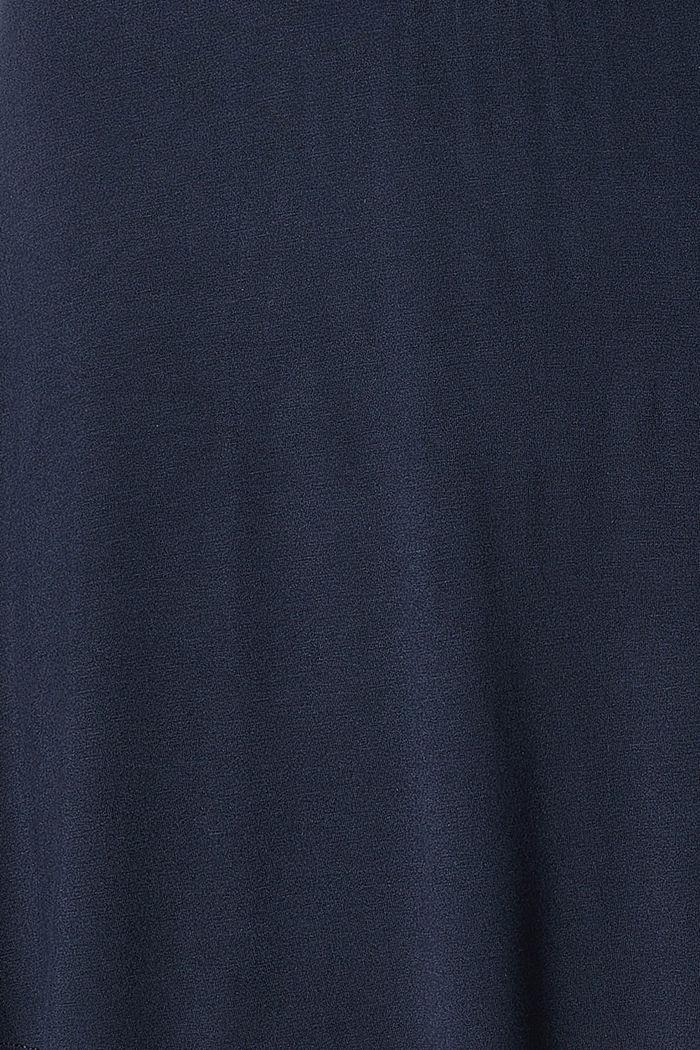 Spódnica z panelem z jerseyu z LENZING™ ECOVERO™:, NIGHT SKY BLUE, detail image number 3