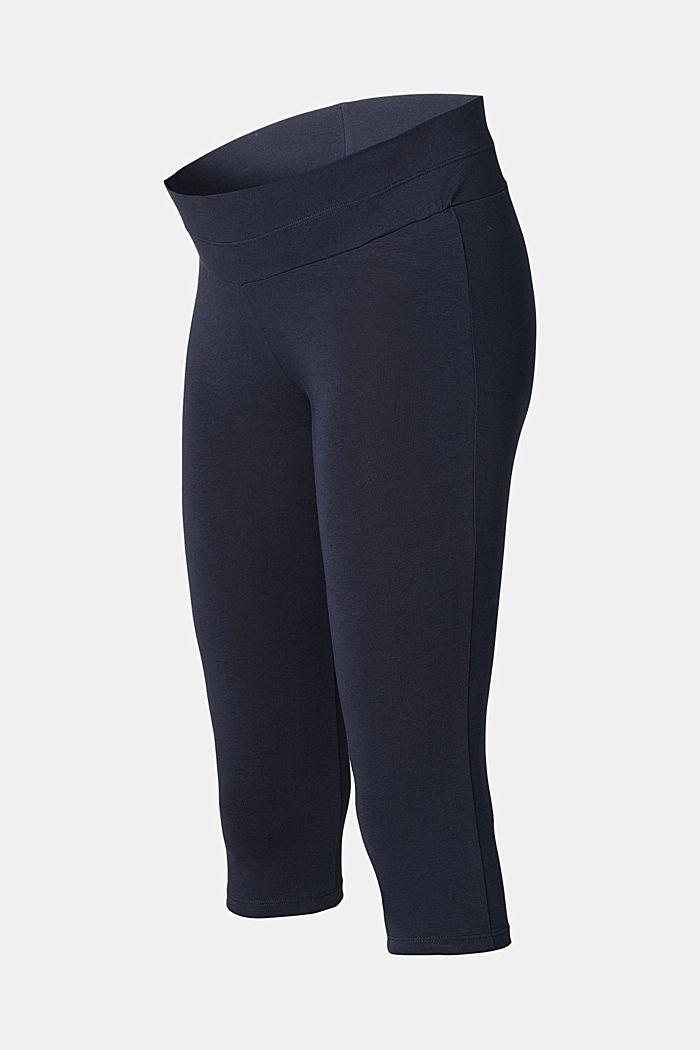 Leggings mit Unterbauchbund, Organic Cotton, NIGHT SKY BLUE, detail image number 1