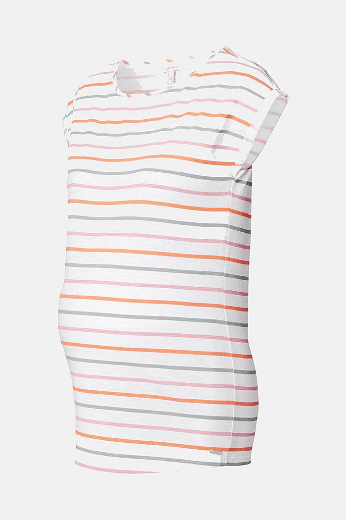Streifen-Shirt aus 100% Bio-Baumwolle