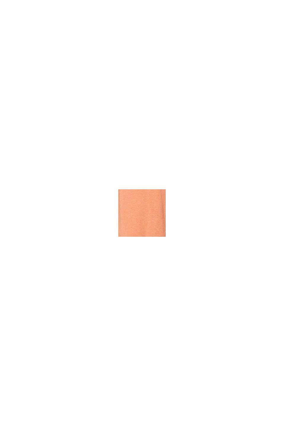 Jersey top met geknoopte bandjes, ORANGE DUSK, swatch
