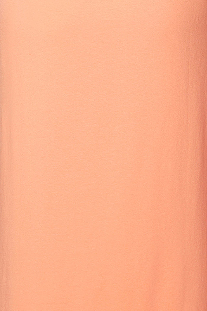 Jersey-Kleid mit Bindegürtel, Organic Cotton, ORANGE DUSK, detail image number 3