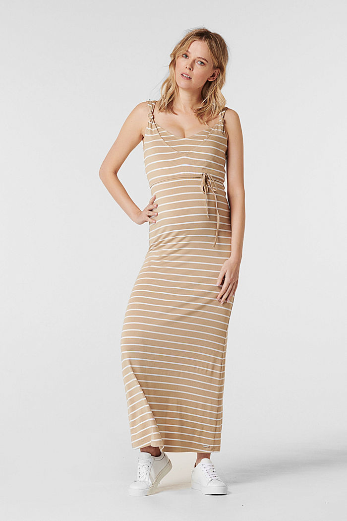 Jerseykleid mit Stillfunktion, LENZING™ ECOVERO™