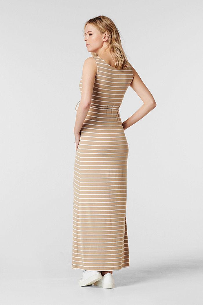 Jerseykleid mit Stillfunktion, LENZING™ ECOVERO™, SAND, detail image number 1