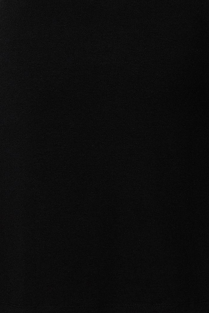 Jersey-Kleid mit Stillfunktion und Gürtel, BLACK INK, detail image number 5