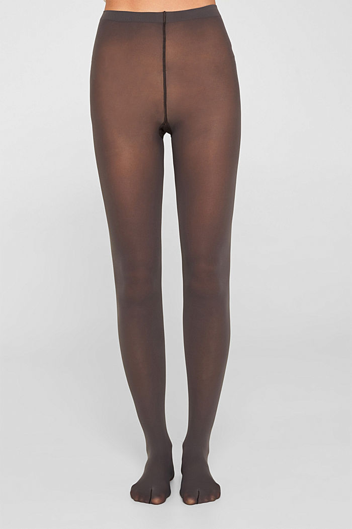 Opaque tights, 50 denier, STONE GREY, detail image number 1