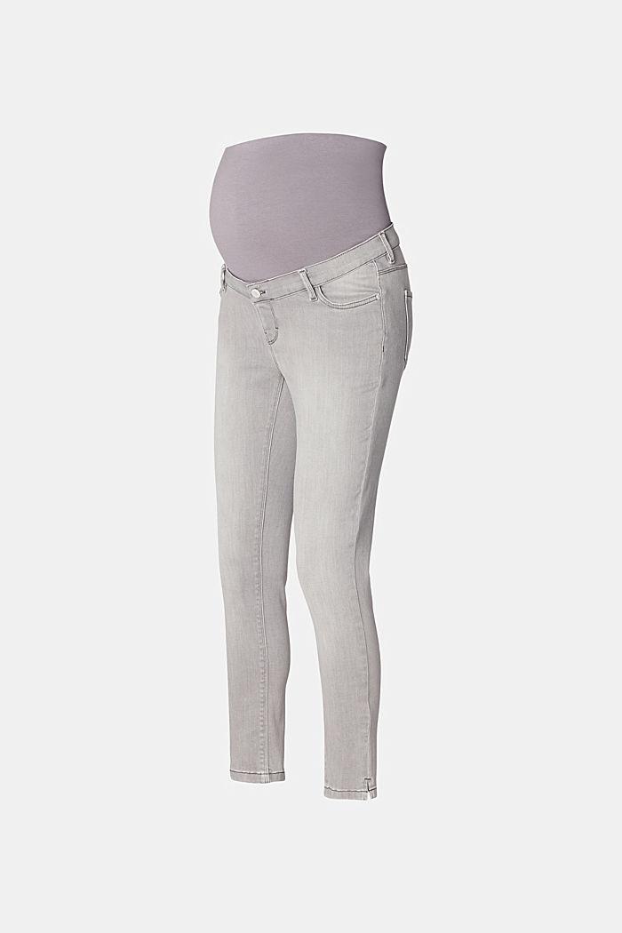 7/8-Jeans mit Überbauchbund
