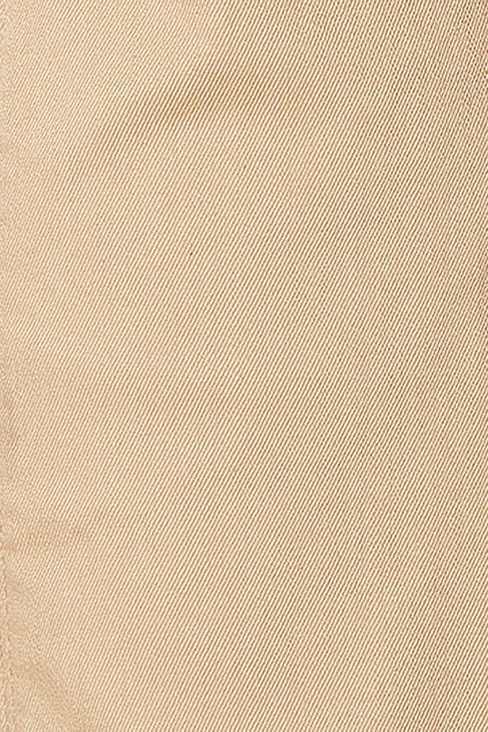 Shorts mit Überbauchbund und Gürtel, SAND, detail image number 2