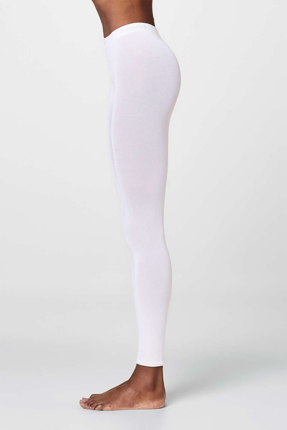 Esprit - opaque cotton blend leggings